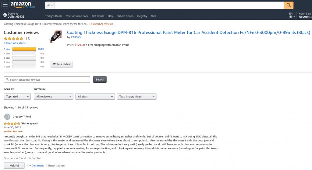 Amazon's Reviews 1